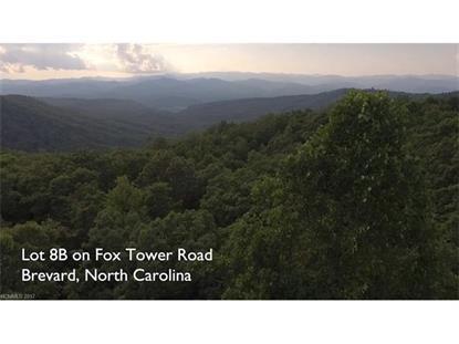 TBD Fox Tower Road Brevard, NC MLS# 3166103