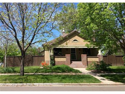 1295 South Ogden Street Denver, CO MLS# 1529962