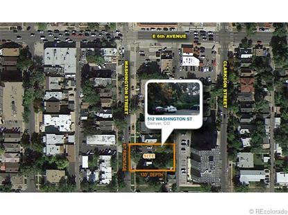 512 North Washington Street Denver, CO MLS# 1613542