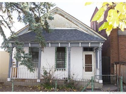 2322 Arapahoe Street Denver, CO MLS# 3746447