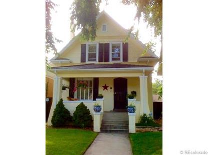543 North Humboldt Street Denver, CO MLS# 4283074