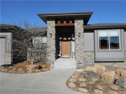 2034 Ridgetrail Drive Castle Rock, CO MLS# 4354525