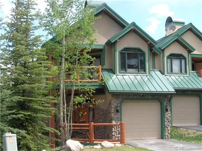 110 Woods Drive Breckenridge, CO MLS# 9699496