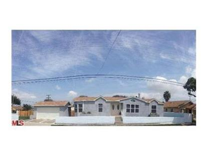 327 West L Street Wilmington, CA MLS# 14755175