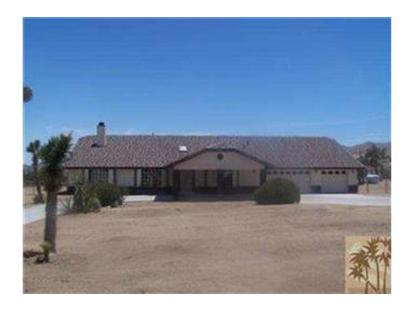 51025 BURNS CANYON Road Yucca Valley, CA MLS# 41420037