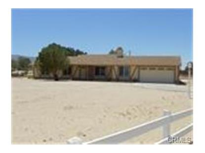 75079 Saddlehorn Road 29 Palms, CA MLS# PW14136295