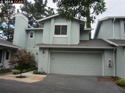 86 FOUNTAINHEAD COURT Martinez, CA MLS# 40664616
