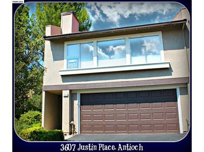 3607 JUSTIN PLACE Antioch, CA MLS# 40666273