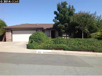 3021 GREENHALL WAY Antioch, CA MLS# 40678046
