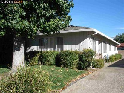 4643 RISHELL CT Concord, CA 94521 MLS# 40679129