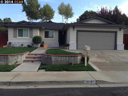 808 BASALT WAY Antioch, CA MLS# 40681240