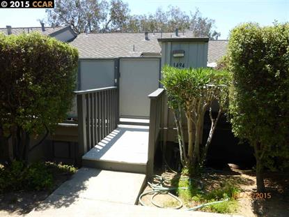 1494 Ashwood Drive Martinez, CA MLS# 40708538