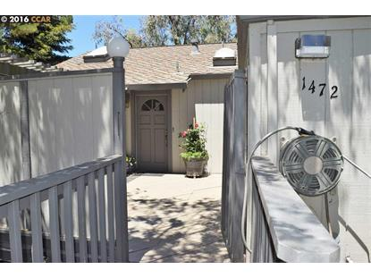 1472 ASHWOOD DR Martinez, CA MLS# 40750057