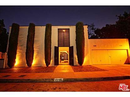 2244 MARAVILLA Drive Los Angeles, CA MLS# 14794477