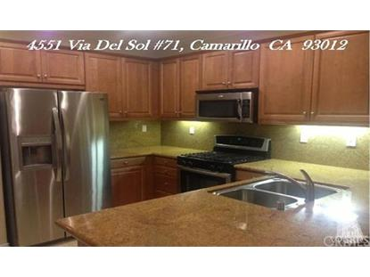4551 Via Del Sol  Camarillo, CA MLS# 216006232