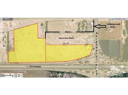 Approx 27 Acres on Hobsonway  Blythe, CA MLS# 216010334DA
