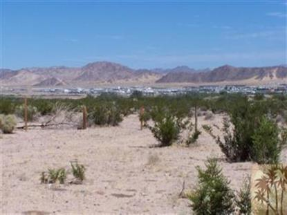 0 Sunny Sands Drive  29 Palms, CA MLS# 41366717PS