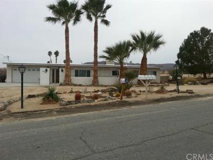73467 desert trail Drive 29 Palms, CA MLS# DC15019803