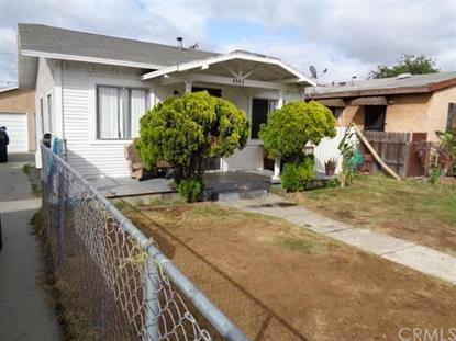 4543 East 55th Street Maywood, CA MLS# DW15100635