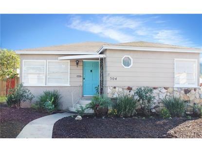 504 East Oak Avenue El Segundo, CA MLS# SB16018668