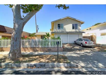 1257 Sycamore Drive Simi Valley, CA MLS# SR14195701