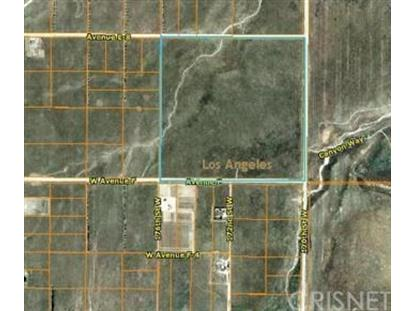 0 Vac/Cor 170 St W Pav /Ave F Drive Lancaster, CA MLS# SR15057926