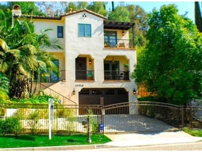 14318 Valley Vista Boulevard Sherman Oaks, CA MLS# SR15058451