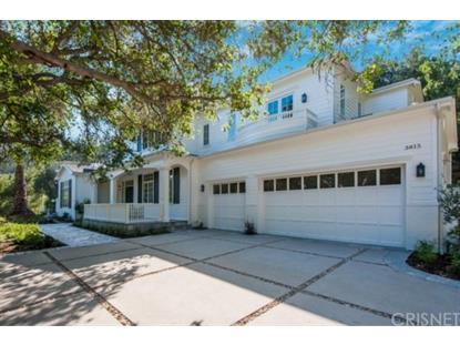 3815 Valley Meadow Road Encino, CA MLS# SR15079992
