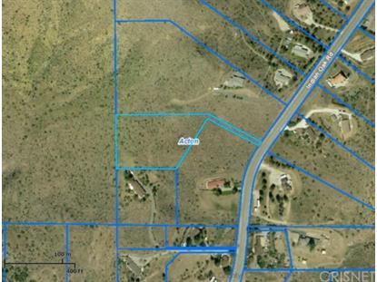 31435 Vac/Indian Oak Rd/Vic Lake Mea  Acton, CA MLS# SR15112939