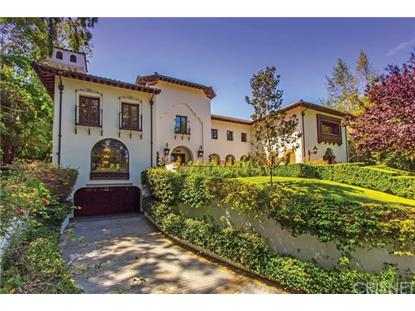 4009 Valley Meadow Road Encino, CA MLS# SR15166181