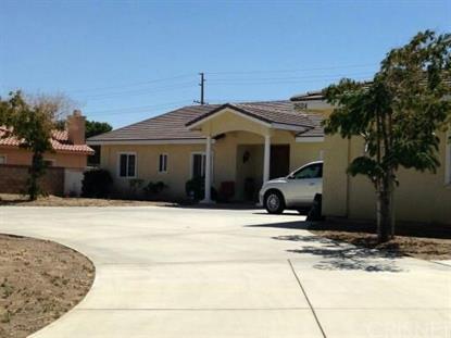 2634 Desert Rose Drive Lancaster, CA MLS# SR15200341