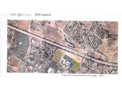 5960 CANAL ST  Riverside, CA MLS# SR16012507