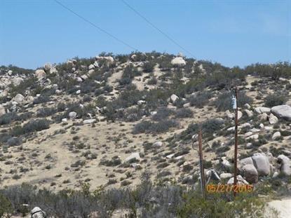 0 gold creek Lane Aguanga, CA MLS# SW15159598