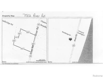 7502 RIVER RD  Cottrellville Township, MI MLS# 215038075