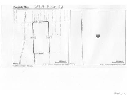 5914 PLANK RD  Cottrellville Township, MI MLS# 215038085
