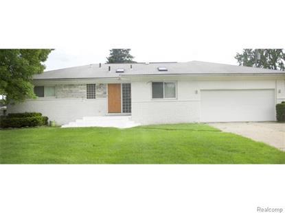 17745 Alta Vista DRV  Southfield, MI MLS# 215064129