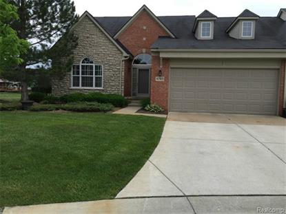 47811 Vistas Circle Drive North DRV N Canton Twp, MI MLS# 215077956
