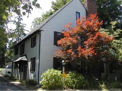 2022 Hill Street Ann Arbor, MI 48104 MLS# 543236035