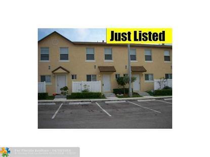 6631 Winfield Blvd  Margate, FL MLS# F10001039