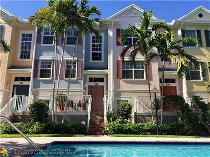 906 Duval Ct # #102 Wilton Manors, FL MLS# F10017517