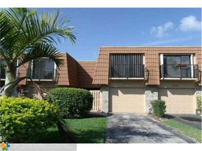 1425 SW 109th Way # 1425 Davie, FL MLS# F10023652