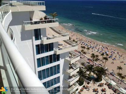 1 N Ft. Lauderdale Beach  Fort Lauderdale, FL MLS# F1225651