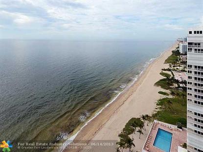 1360 S OCEAN BL  Pompano Beach, FL MLS# F1242454