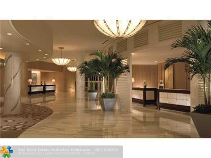 1 N Fort Lauderdale Bch  Fort Lauderdale, FL MLS# F1242491