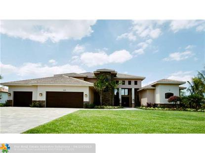 11480 NW 8TH ST  Plantation, FL MLS# F1284727