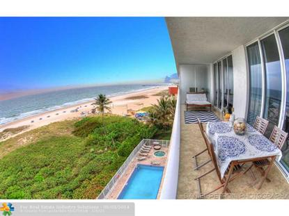 704 N Ocean Blvd  Pompano Beach, FL MLS# F1288372
