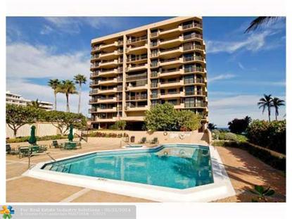1300 S Ocean Blvd  Pompano Beach, FL MLS# F1291121