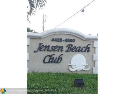 4460 NE OCEAN BLVD  Jensen Beach, FL MLS# F1296572
