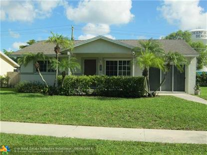 3470 SW 4TH ST  Deerfield Beach, FL MLS# F1298524