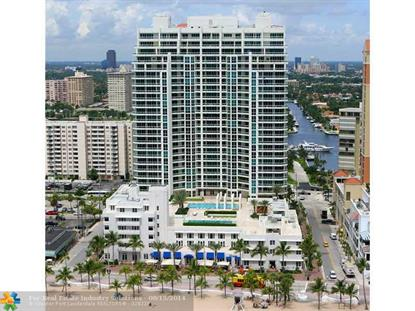 101 S Fort Laud Beach Blvd  Fort Lauderdale, FL MLS# F1300270
